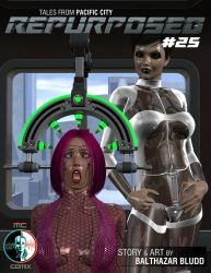 Coming Soon to MCComix.com - Repurposed Issue #25 by balthazarbludd