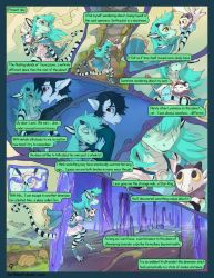 Asteria Six: Page 9. The Wanderer. by The-SixthLeafClover