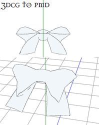 MMD- Waist Bow-DOWNLOAD by MMDFakewings18