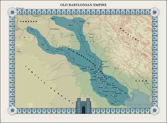 HAoE: Old Babylonian Empire by zalezsky