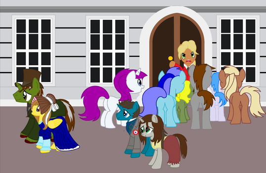 les miserables Colonel Pontmercy's house by Vector-Brony