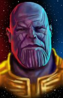 Thanos by HeroforPain