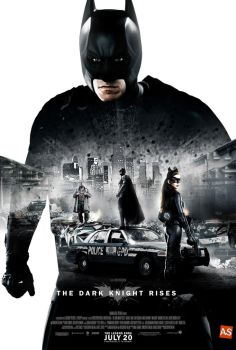 The Dark Knight Rises poster (Total Recall style) by AndrewSS7