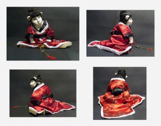 Neko Hime Hina Doll by KupcakeKitty