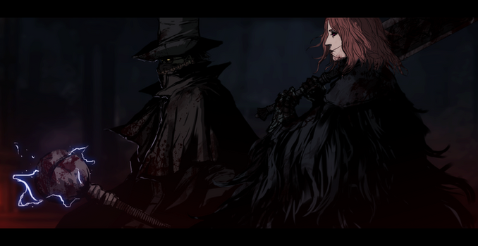 Bloodborne Co op by Banished-shadow