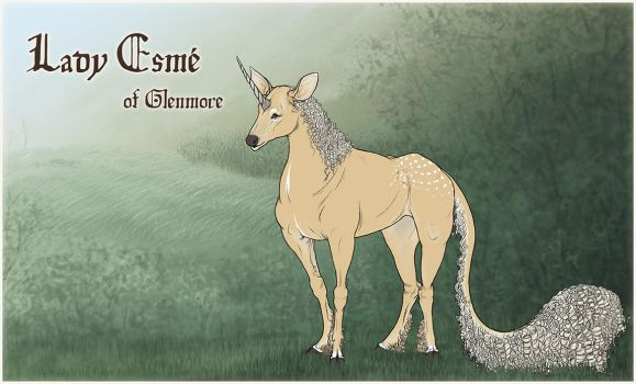 Lady Esme | Doe | Glenmore Old Lady by jouroo
