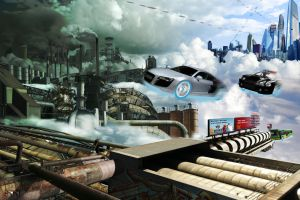 Future City 2: The Industrial District by robertllynch
