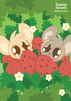 Little Strawberries by Daieny