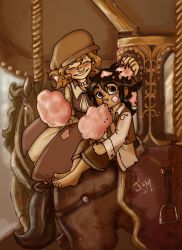 Cotten candy and carousels by Sio64