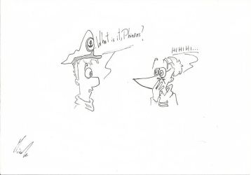 Phineas and Ferb- like a captain by Woodpeckery