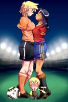 Football Girls by gamera1985