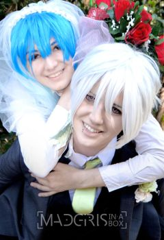 Just married by Madgirls-In-A-Box