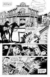 Holstered Heathen #1 page 1 by IanJMiller