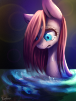 Crying pony by IPonyLover