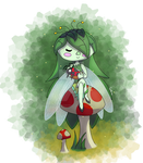 Leaf Pixie by TheEpicWingedWolf