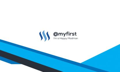 My  Steemit Business Cards 03 by myfirststeem