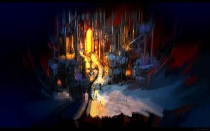 hell scene details concept by arsenixc