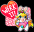 Rabbid Peach - WERK IT