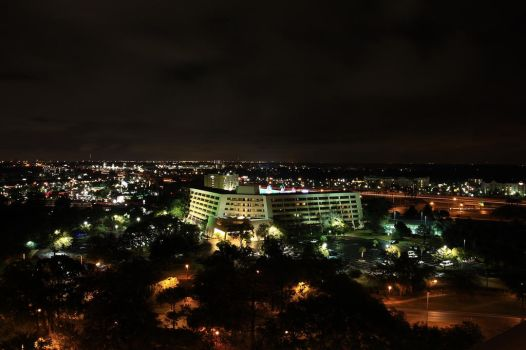 City horizon by night by Pardus