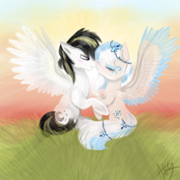 Art trade for KikiRDCZ by GingerAdy