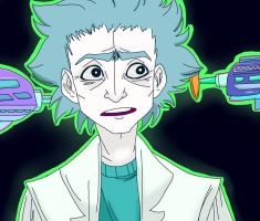 Rick Sanchez by Barking--Cat
