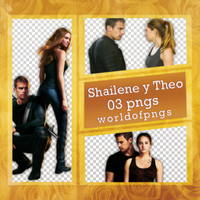 pack png 176 - Shailene y Theo by worldofpngs