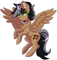 Artsong Pixel Pony (COM 4) by Naughty-Savage