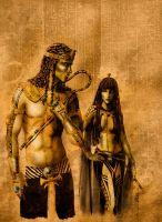 Dark Gods - Egypt 01 by Orestes-Sobek