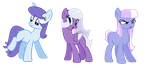 WINTER PONY ADOPTS +CLOSED+ by cuttlewltch