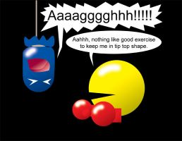 Pacman Funny 25 by Inspectornills
