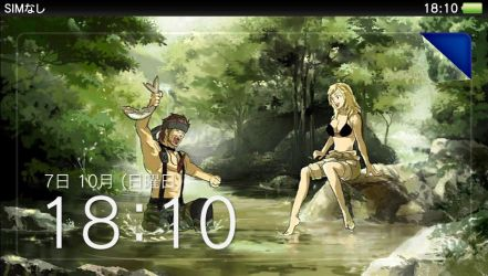 My PSVITA Lockscreen ^_^ by Outer-Heaven1974