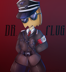 Dr.Flug Nazi Costume by KarlaDraws14