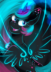 Wings of Neon by Chirpy-chi
