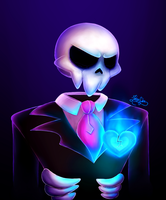[Mystery Skulls - Ghost] More sad Lewis. by Jaha-Fubu