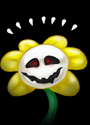 Flowey + SPEEDPAINT by ShanteiDraws