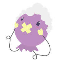 Collab Drifloon in a Wig by ezeqquiel