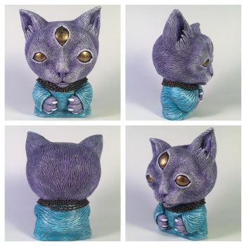 More views of Trjegul - Customized 4 inch Trikky by ShadowWorkArt