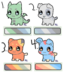Adopts (10 points each) (open) by patchy-moon