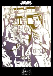 Brody, Hooper  and Quint by dusty-abell