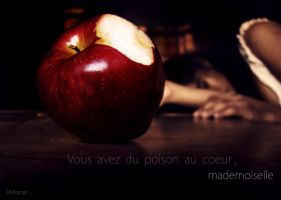 You poison the heart, miss. by DebaratiDas