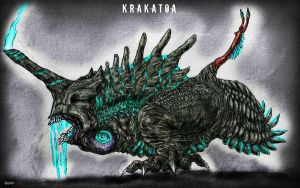 Pacific Rim Fan Kaiju: Krakatoa (2.0) by Quinn-Red