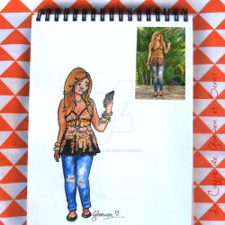 Look of the day 6/100 by Gloewen-Art