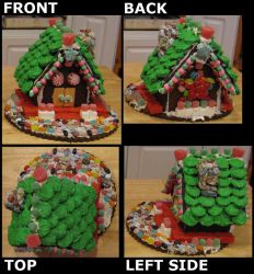 Gingerbread House 2008 by AxletheBeast