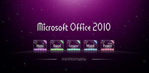 Office 2010 Icons by minhtrimatrix