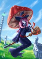 Sucy from Little Witch Academia by VictorModa