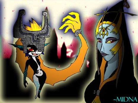 Midna- The Twilight Princess by WickedZelda93