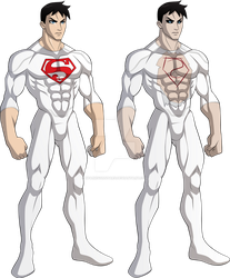 Superboy and Match Cadmus suit by sparks220stars