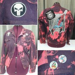 Spider-Punk Jacket  by Sew-it-all