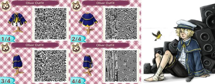 Animal Crossing QR: Oliver (Vocaloid) by xXShySoulBakaXx
