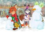 Let it snow in Zootopia